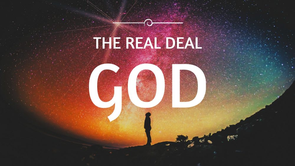 The Real Deal God Image