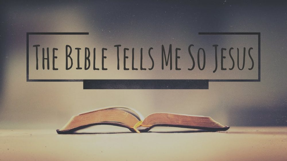 The Bible Tells Me So Jesus Image