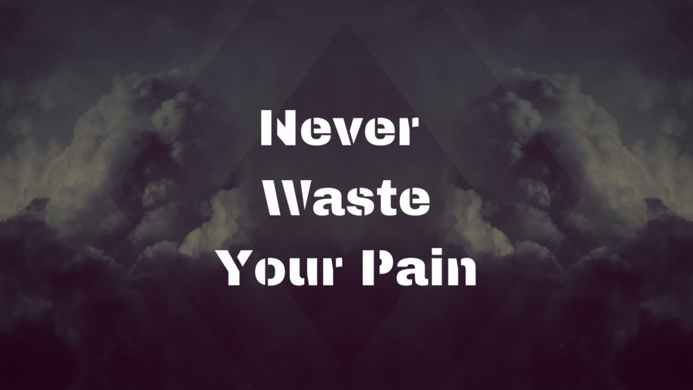 Never Waste Your Pain Image