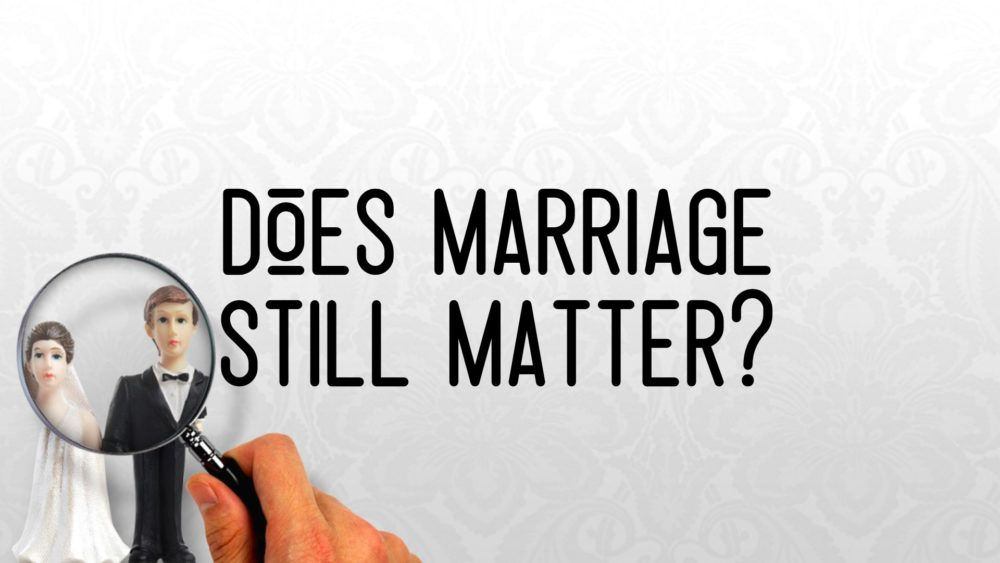 Does Marriage Still Matter? Image