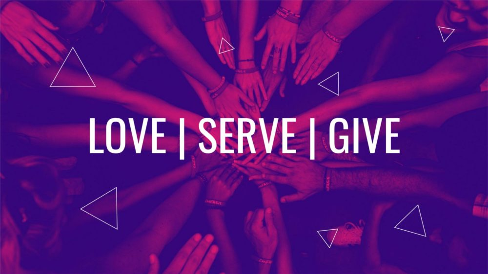 Love | Serve | Give Image