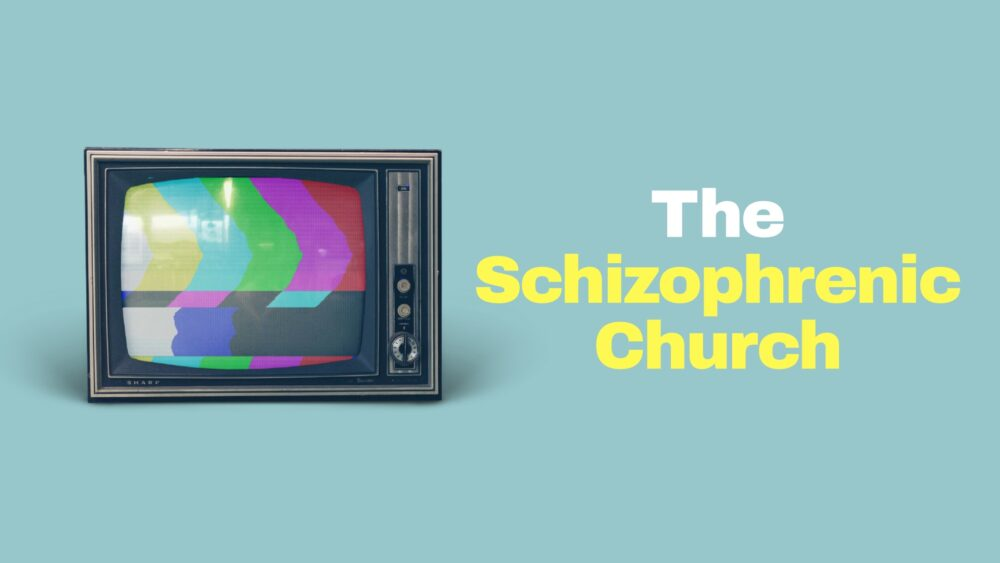 The Schizophrenic Church Image