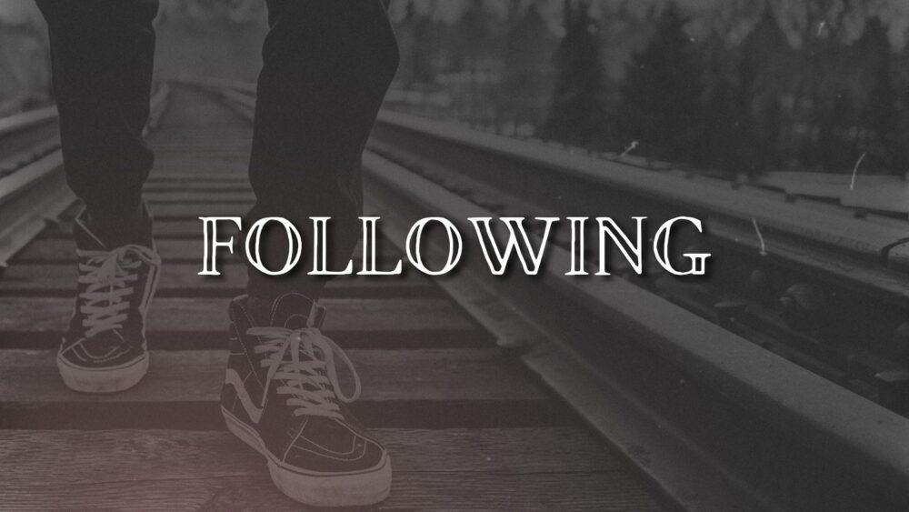 Following Image